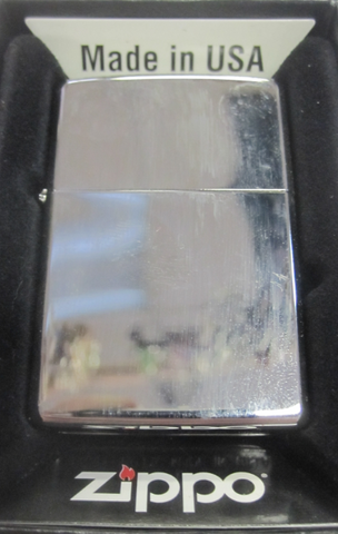 Zippo Lighter - Other - High Polish Chrome