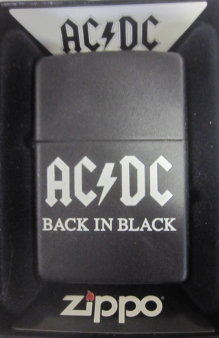 Zippo Lighter - Music - AC/DC Back In Black