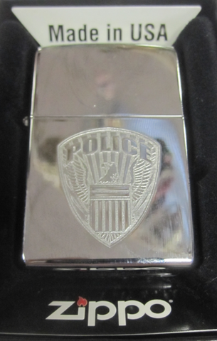 Zippo Lighter - Other - Police (PLC)