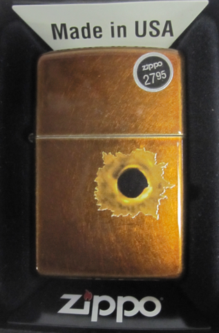 Zippo Lighter - Other - Bullet Hole