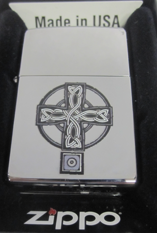 Zippo Lighter - Other - Celtic Cross