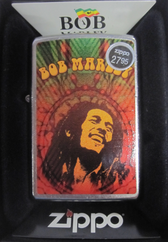 Zippo Lighter - Music - Bob Marley Distress
