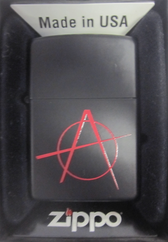 Zippo Lighter - Other - Anarchy