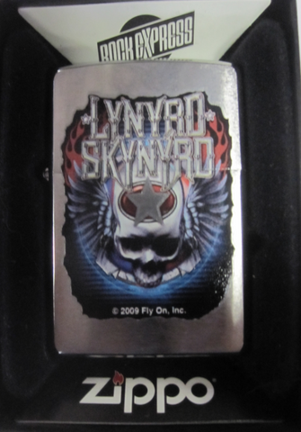 Zippo Lighter - Music - Lynryd Skynryd Winged Skull