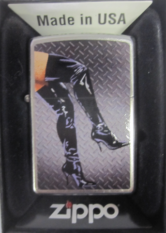 Zippo Lighter - Pinup - Legs In Boots