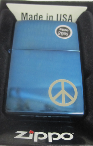 Zippo Lighter - Other - Peace On the Side