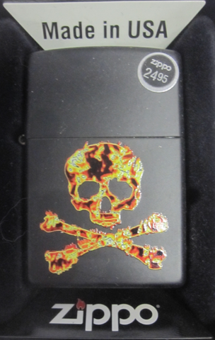 Zippo Lighter - Other - Skull and Crossbones