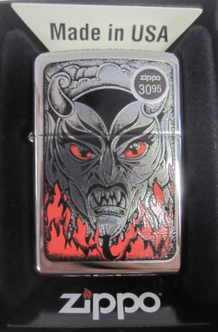 Zippo Lighter - Other - Fire Down Below