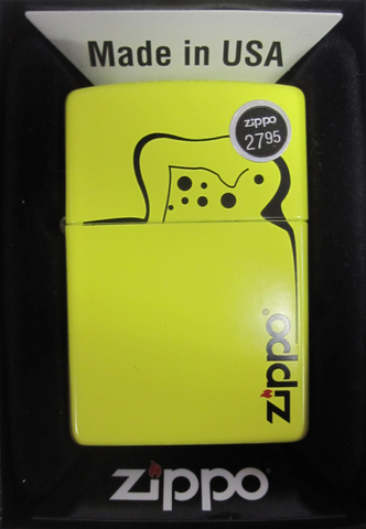 Zippo Lighter - Other - Yellow Lighter