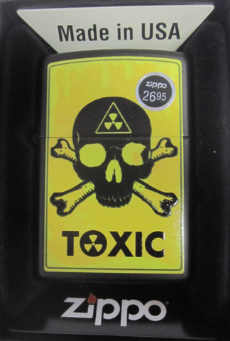 Zippo Lighter - Other - Toxic