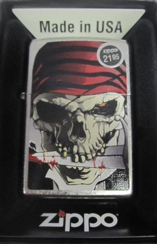 Zippo Lighter - Other - Pirate COL