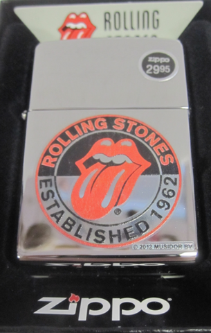 Zippo Lighter - Music - Rolling Stones 50th Anniversary