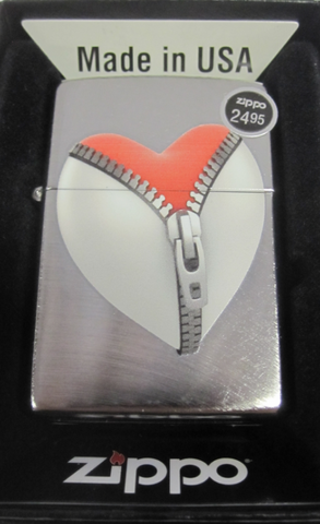 Zippo Lighter - Other - Zip Heart