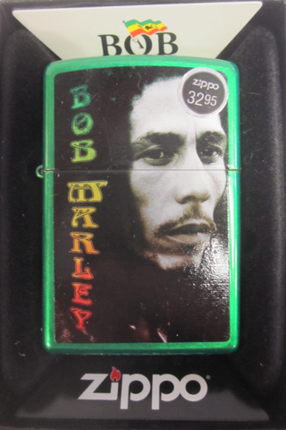Zippo Lighter - Music - Bob Marley Green