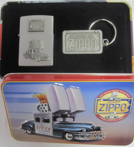 Zippo Lighter - Collectable of the Year - 1998 Zippo Car