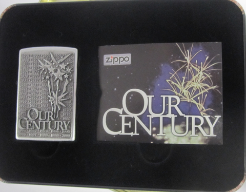 Zippo Lighter - Millennium - Our Century Collector's Edition