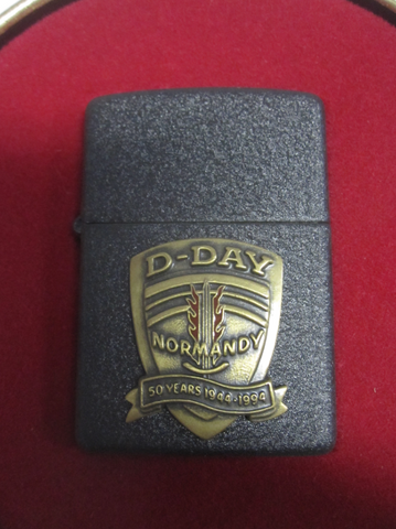 Zippo Lighter - Military - D-Day 50th Anniversary