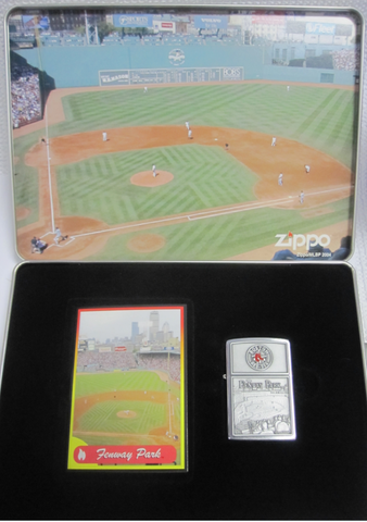 Zippo Lighter - Sports - Red Sox Fenway Park Tin
