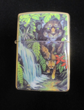 Zippo Lighter - Collectable of the Year - 1995 Mysteries of the Forest
