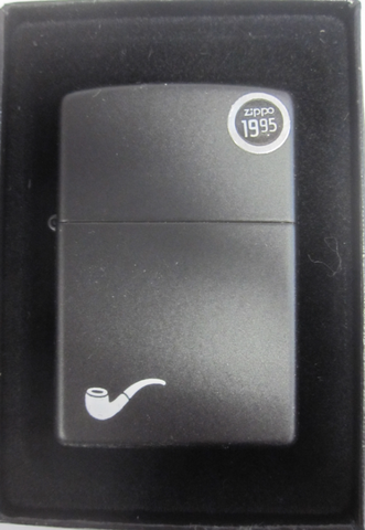 Zippo Lighter - Other - Black Pipe