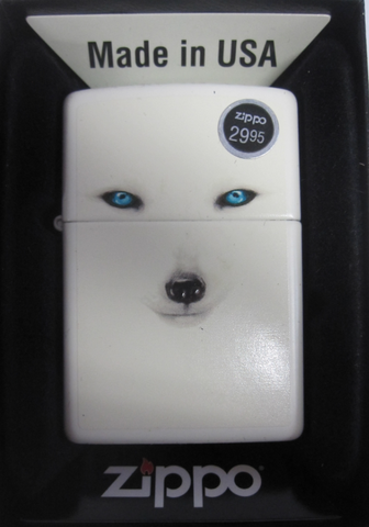 Zippo Lighter - Animal - Arctic Fox