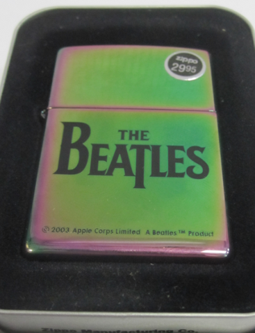 Zippo Lighter - Music - The Beatles Black Logo