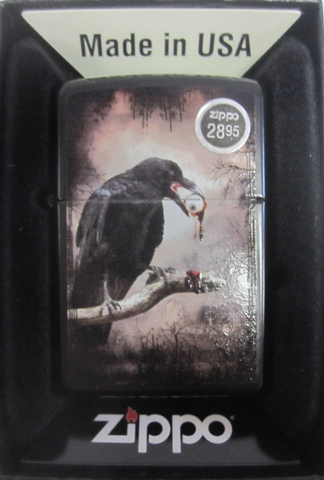 Zippo Lighter - Other - Raven Eyeball