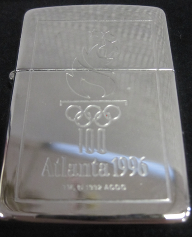 Zippo Lighter - Sports - Olympic Torch Atlanta 1996