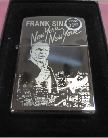 Zippo Lighter - Music - Frank Sinatra New York, New York