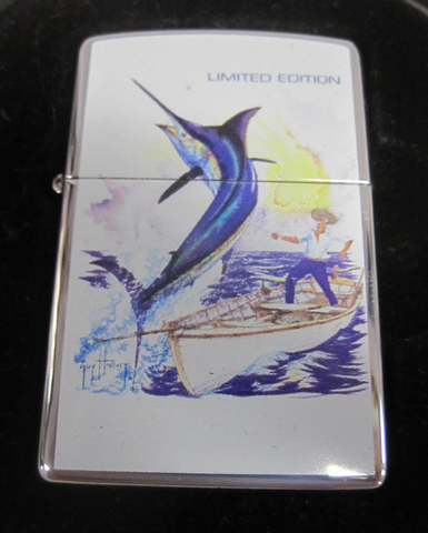 Zippo Lighter - Wildlife - Guy Harvey Old Man