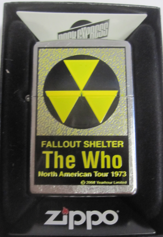Zippo Lighter - Pinup - The Who Fallout Shelter