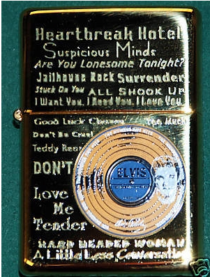Zippo Lighter - Music - Elvis Record Logo