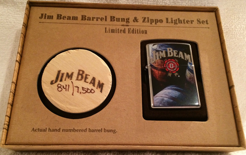Zippo Lighter - Alcohol - Jim Beam Barrel Bung