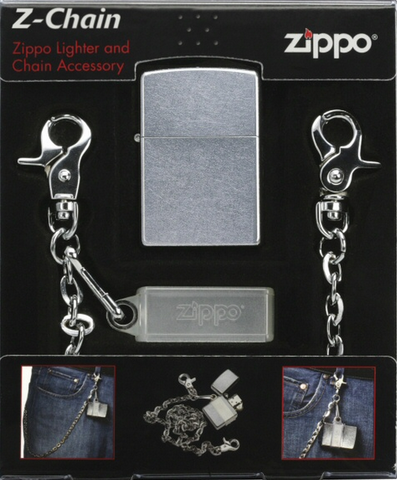 Zippo Lighter - Other - Chain/Lighter Combo