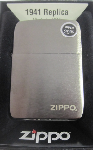 Zippo Lighter - Original - 1941 Replica