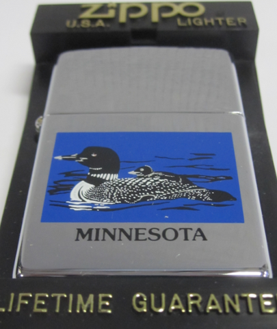 Zippo Lighter - Other - Minnesota Loon