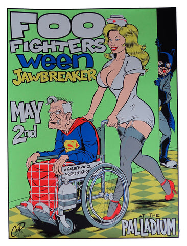 Coop - 1996 - Foo Fighters Poster