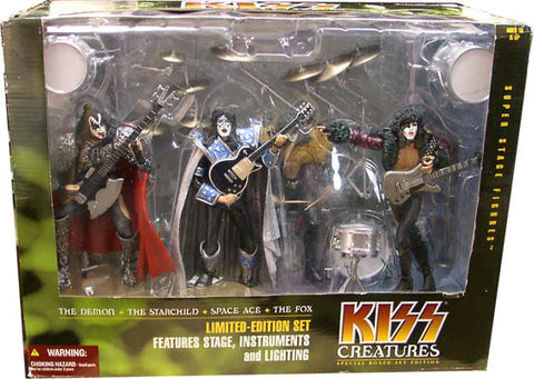 McFarlane - KISS Creatures - Deluxe Boxed Set