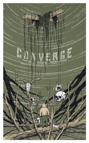 Neal Williams - 2012 Converge - Atlanta Concert Poster