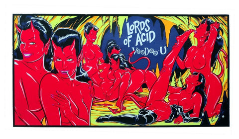 Coop - 1997 - Lords of Acid Voodoo U Concert Poster