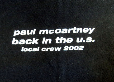 Paul McCartney crew shirt