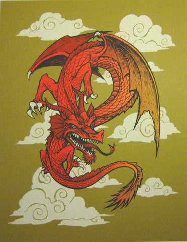 Dwitt - 2012 - Dragon Art Print