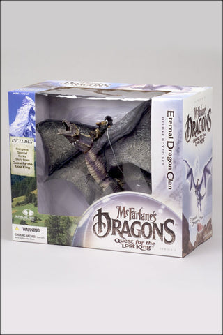 McFarlane - Dragons Series 2: Quest for the Lost King - Eternal Dragon Clan 2 Deluxe Boxed Set