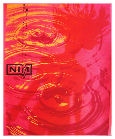Nine Inch Nails - Lure Design - Test Print - 2008