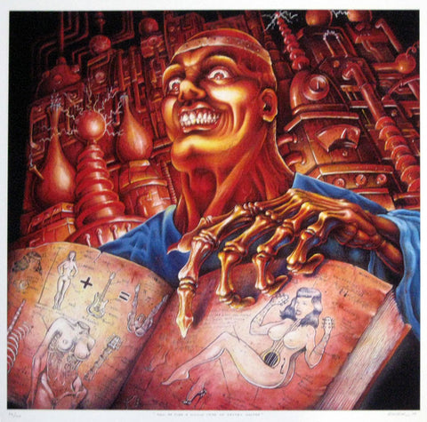 Emek - 2001 - How ta Turn a Womun inta an 'Lectric Geetar Giclee