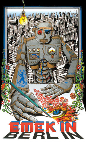 Emek - 1999 - Emek in Berlin Exhibition Poster