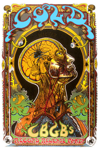Emek - 2000 - Cold CD Release Poster
