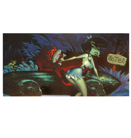 Glenn Barr - 2002 - Bad Betty Art Print