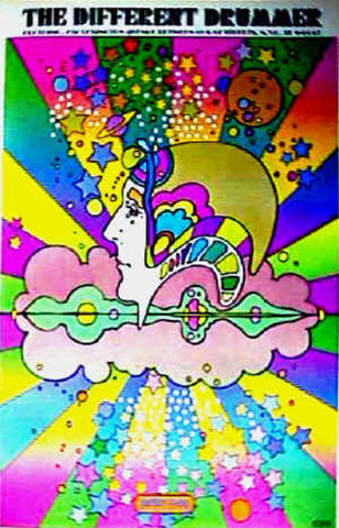 Peter Max - 1968 The Different Drummer