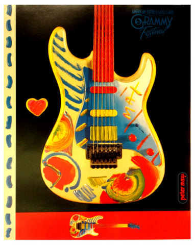 American Express Gold Card Grammy Festival 1993 by Peter Max